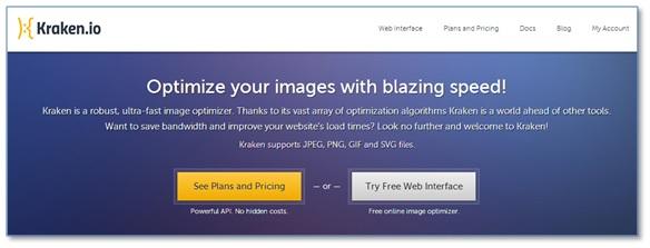 Kraken - Otimização de imagens